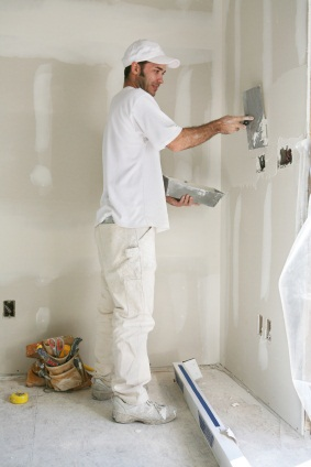 Drywall repair in Exeter, NH by MF Paint Management, LLC.