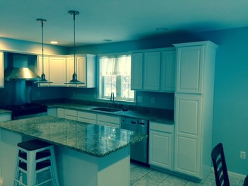 After Cabinet Refinishing Brookline, NH