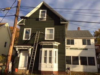 Before Exterior Painting in Manchester, NH